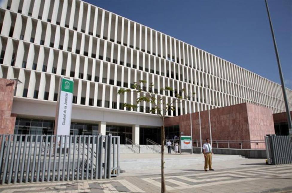 Imagen de la Ciudad de la Justicia de Málaga.