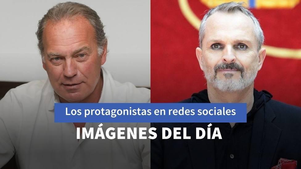 Bertín Osborne y Miguel Bosé