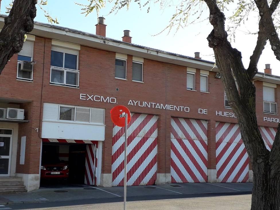 Parque de bomberos de Huesca