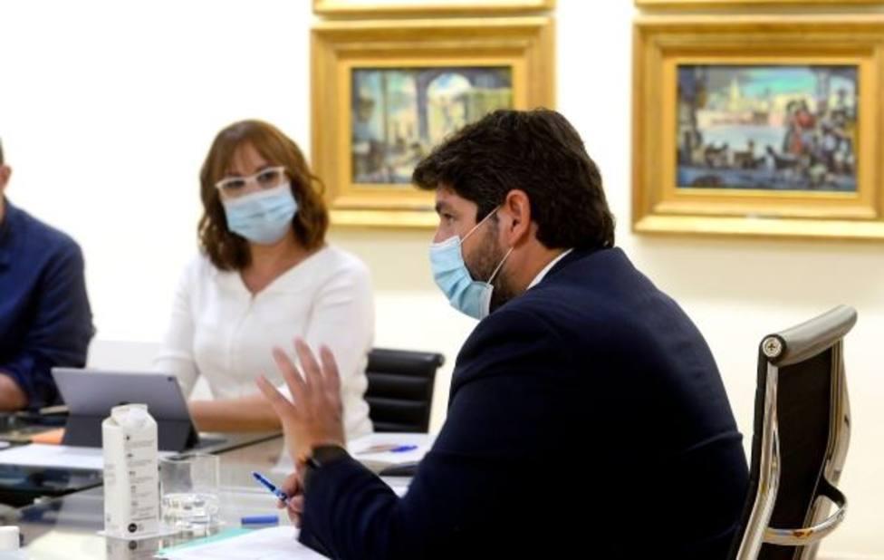 Fernando López Miras preside el comité de seguimiento del COVID