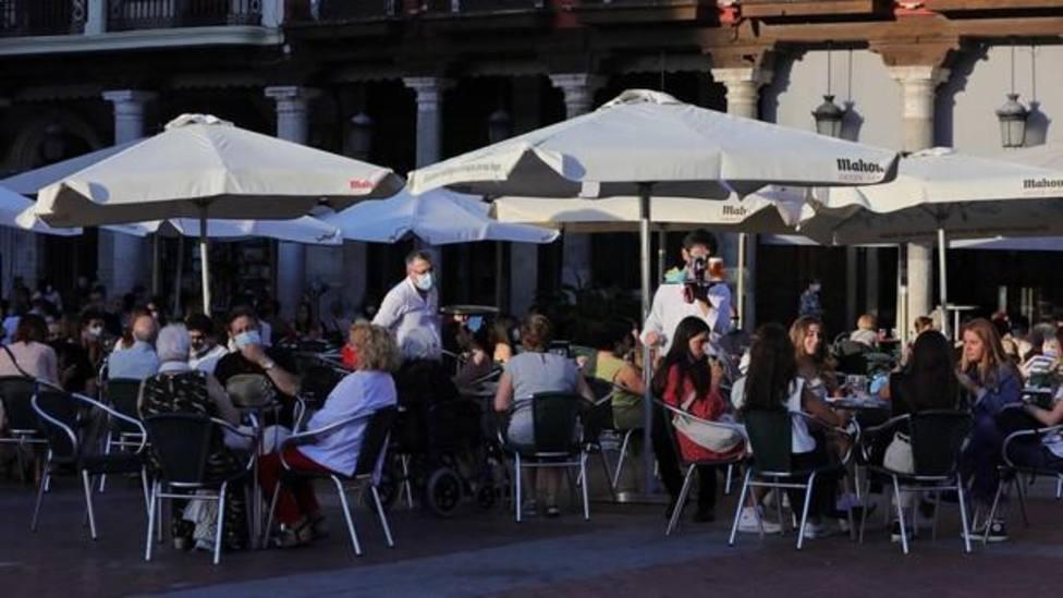 Hostelería y comercio de Valladolid toman medidas para salir adelante