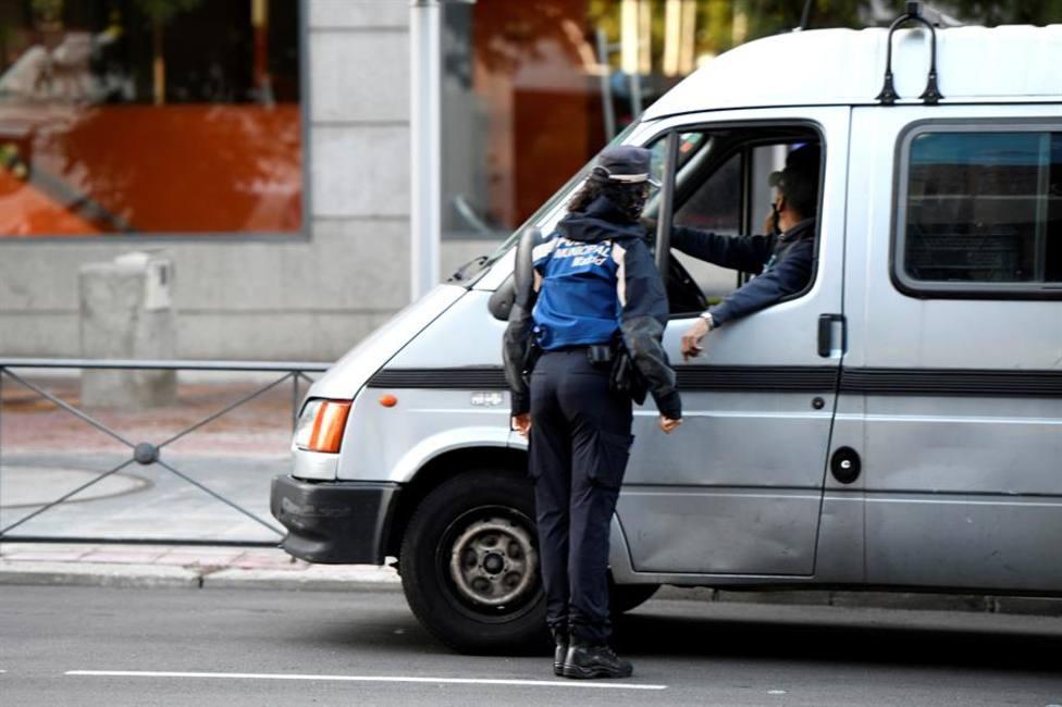Controles policiales por la Covid