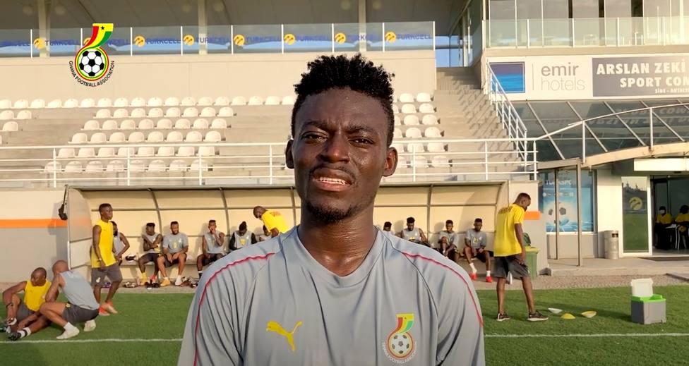 Iddrisu Baba, con la selección de Ghana