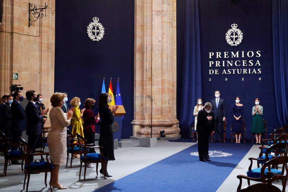 Estos son los 15 sanitarios que han representado al sector en los Premios Princesa de Asturias