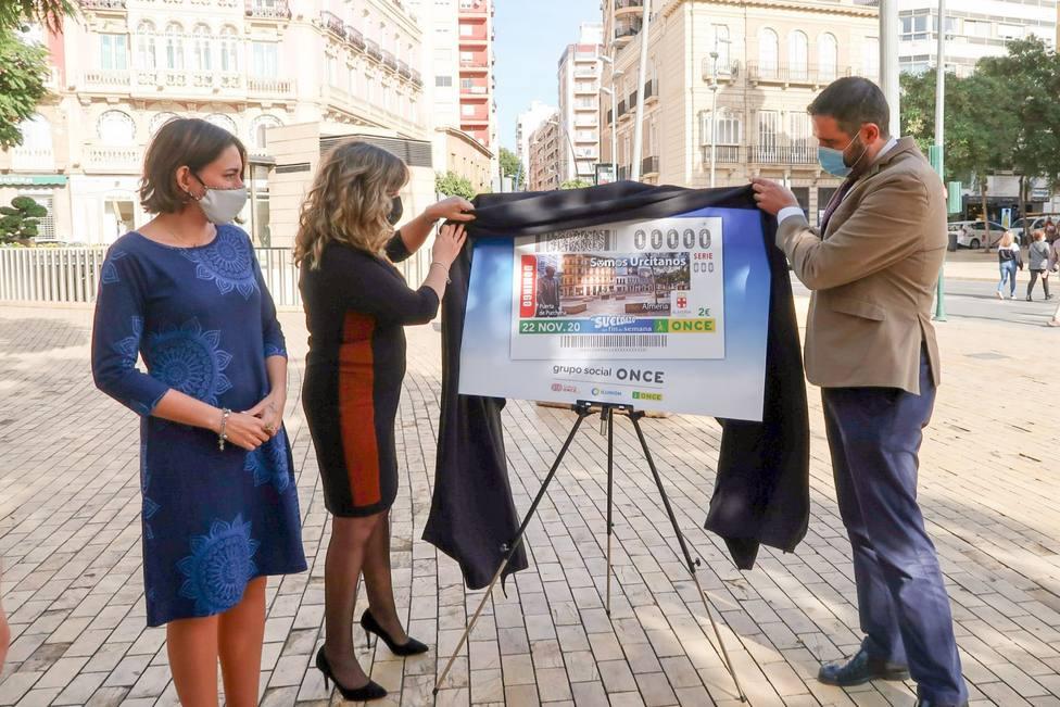La ONCE dedica uno de sus cupones al gentilicio de Almería 'Somos Urcitanos'