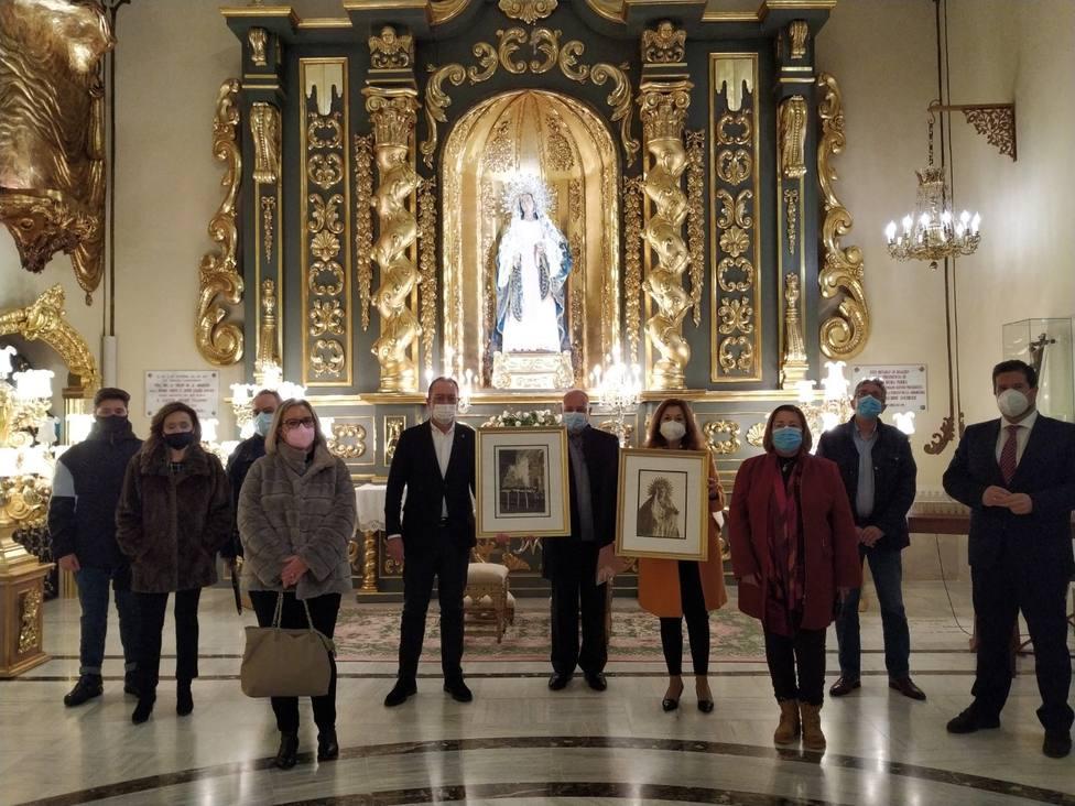 La familia del gran pintor lorquino Salinas Correas dona dos de sus cuadros a la Fundación Santo Domingo
