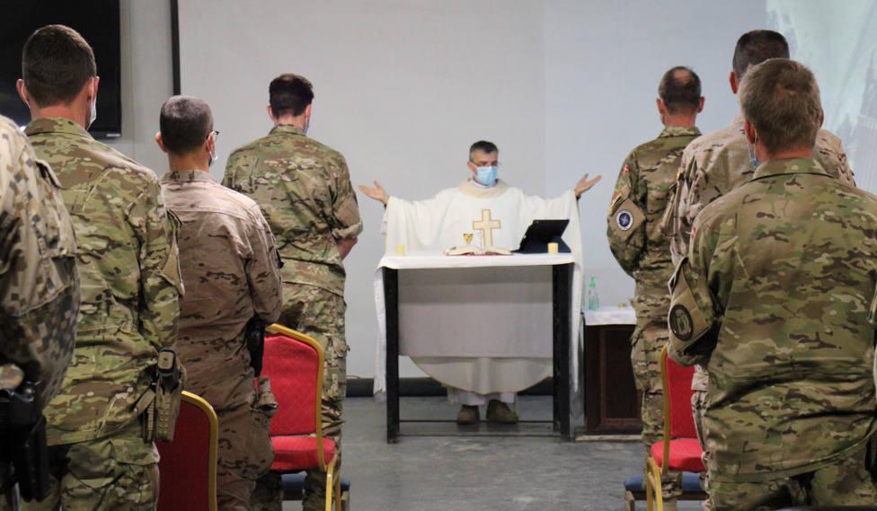 Así prepara el contingente español destacado en Irak la noticia de la próxima visita del Papa