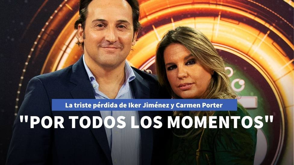 Triste pérdida para la familia de Carmen Porter e Iker Jiménez: Descansa luchador
