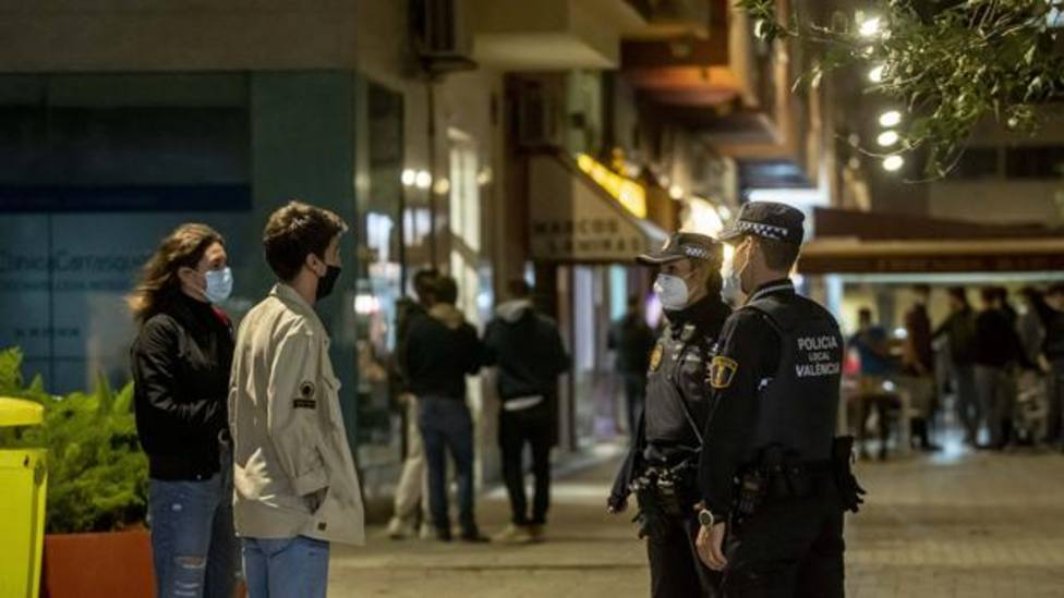 Control policial de restricciones