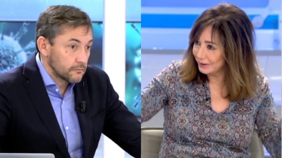 Javier Ruiz y Ana Rosa Quintana