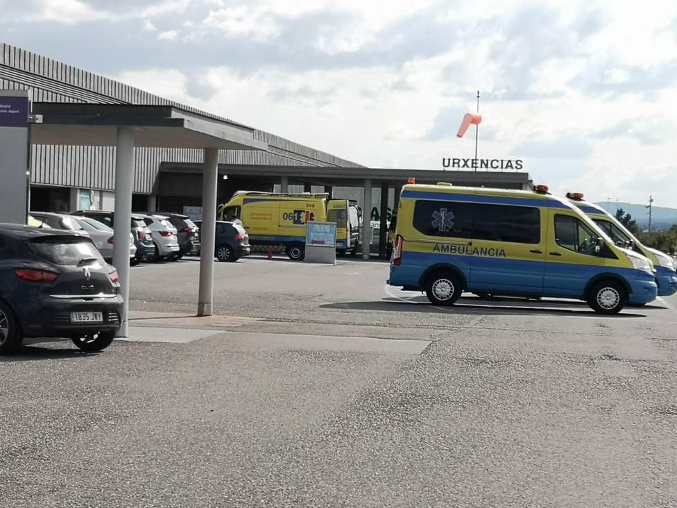 Herido grave un conductor sin carné que iba en moto en la colisión con dos turismos en Lugo