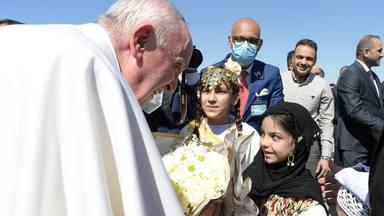 Bienvenida al Papa Francisco en Ur