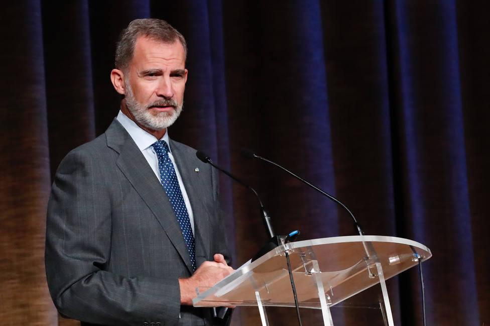 El Rey se reúne con el nuevo presidente del Real Instituto Elcano