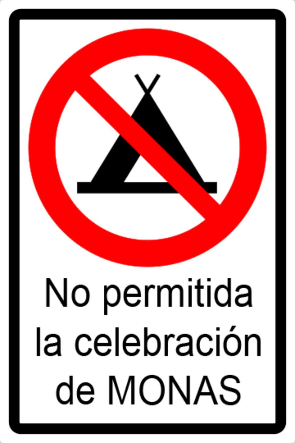 La actual situación sanitaria no permite la celebración de las tradicionales Monas