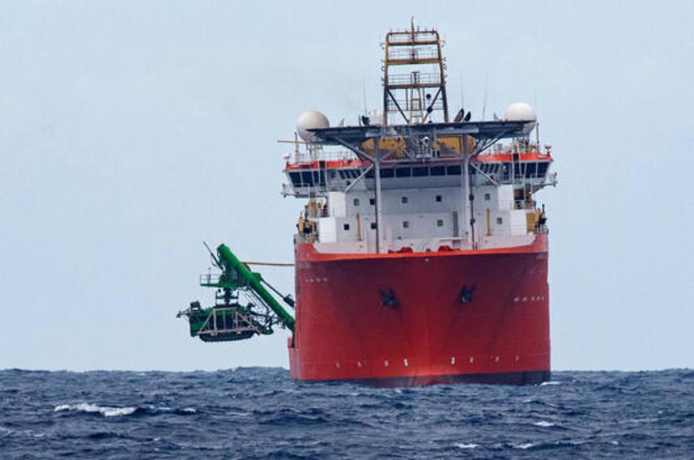 Un robot submarino de 25 toneladas se hunde en el fondo del Pacífico