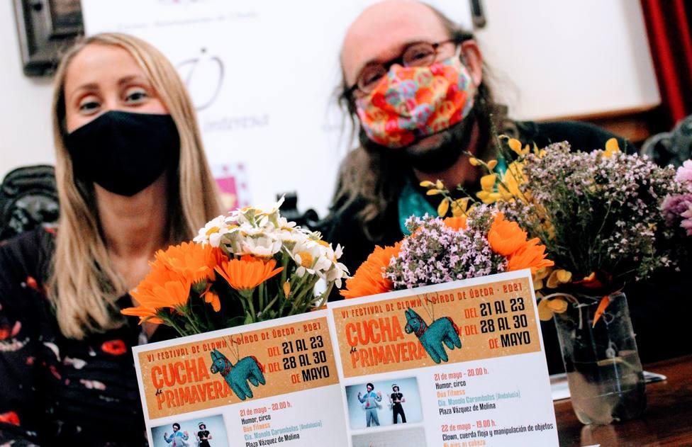 Arranca la VI edición del Festival de Clown y teatro de calle Cucha de Primavera de Úbeda