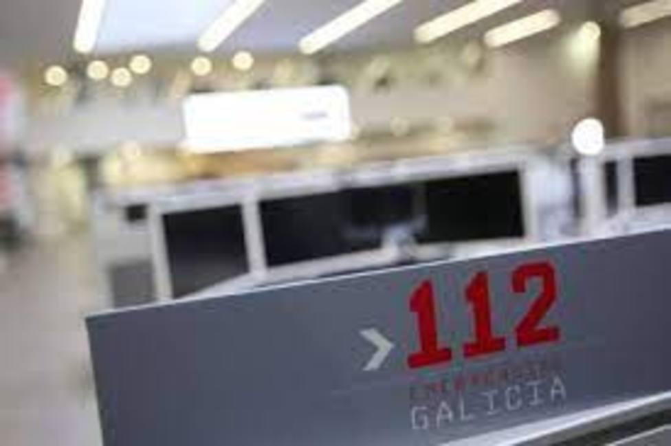 El 112 movilizó a los servicios de emergencias