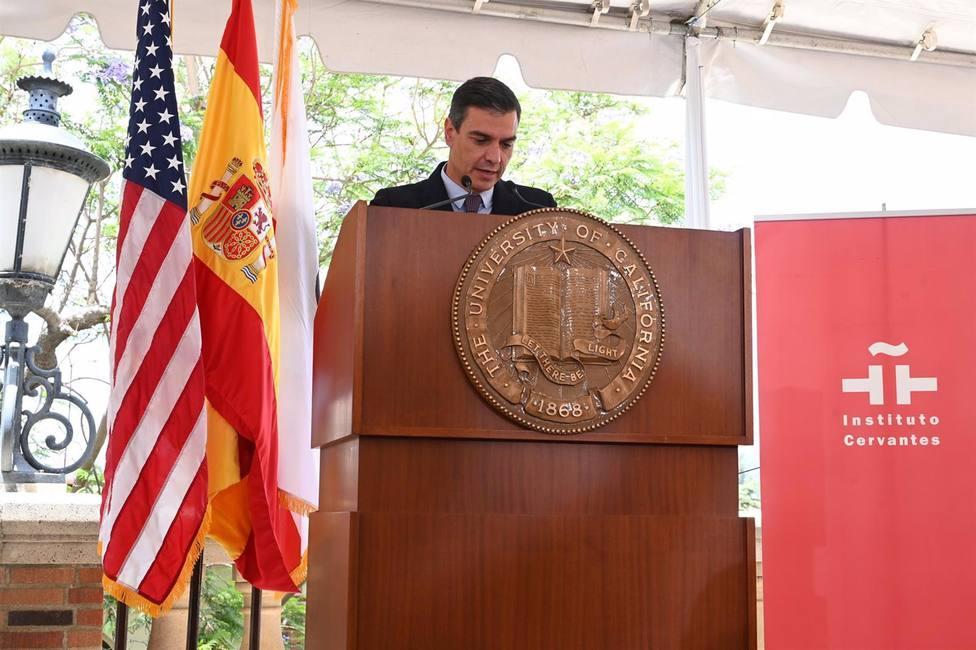 Sánchez pide desde Estados Unidos reformas en Cuba sin injerencias de nadie y critica el embargo