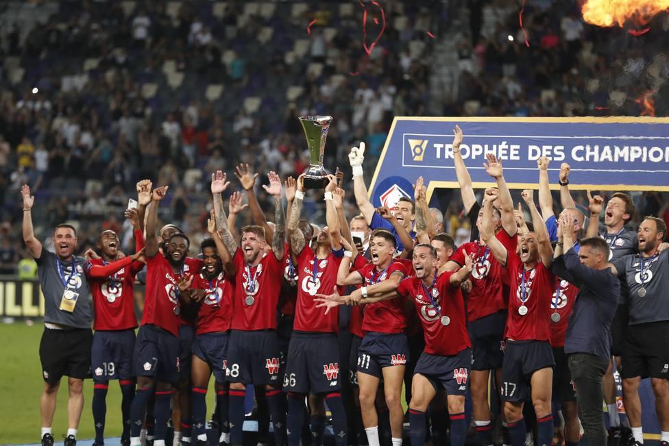 El Lille levanta la Supercopa de Francia en Tel Aviv