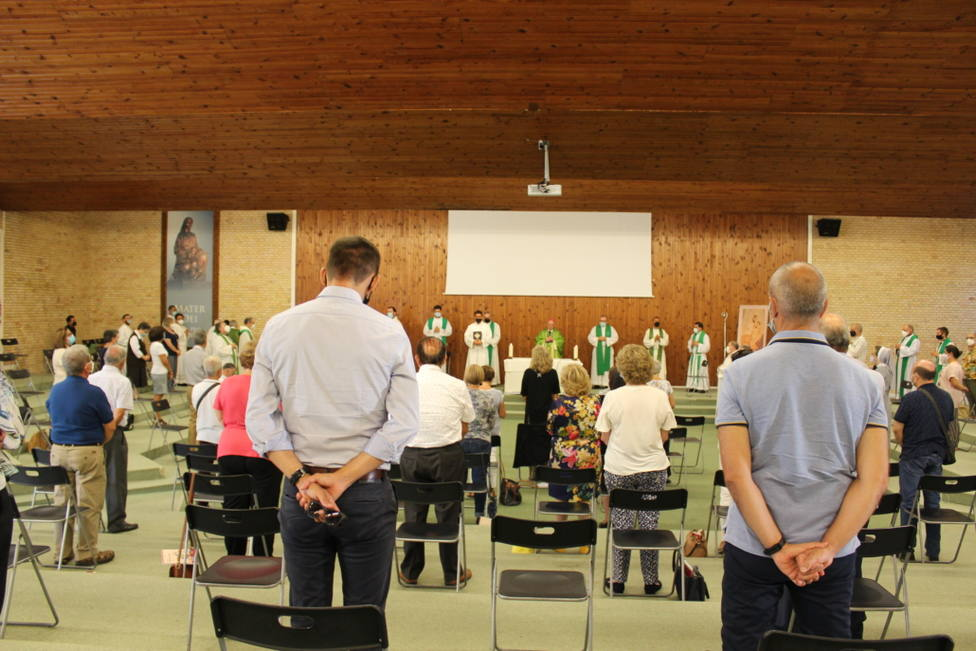 Inicio del Curso Pastoral en el seminario Mater Dei