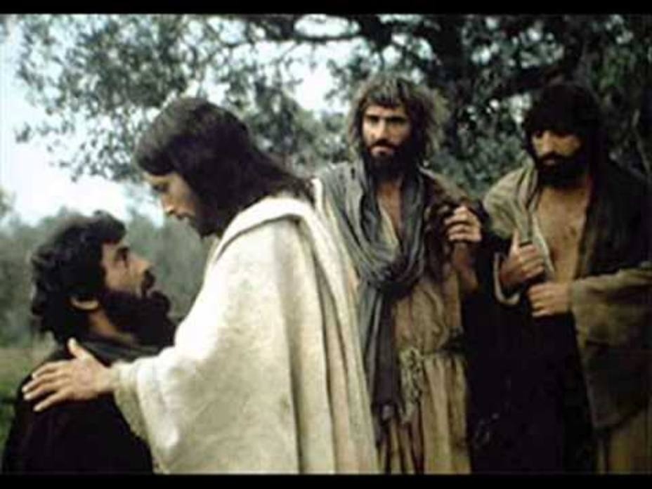 Cristo entrega el Primado a Pedro