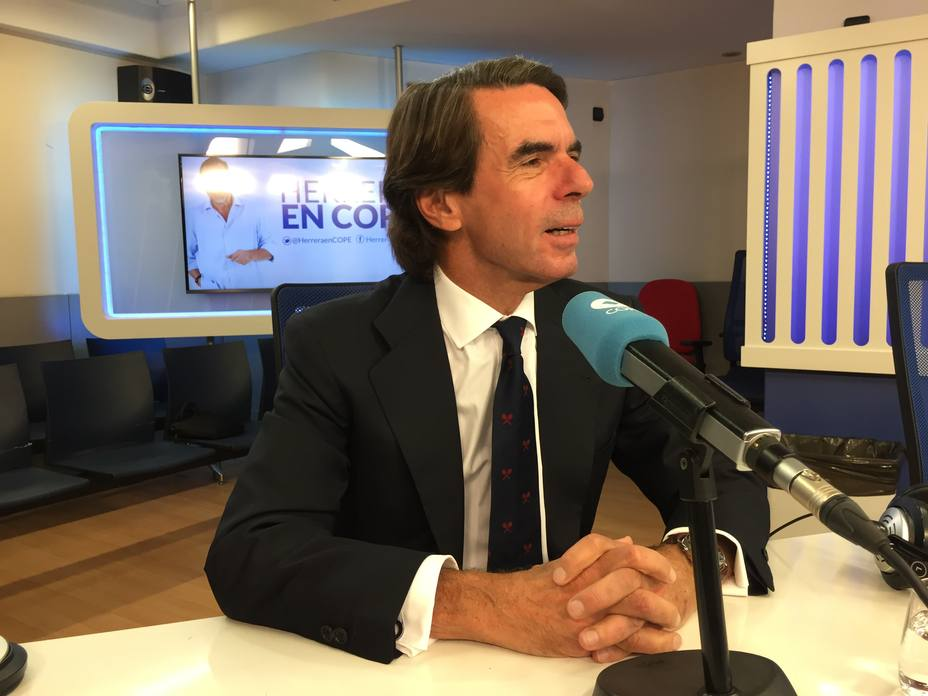 Aznar en Herrera en COPE