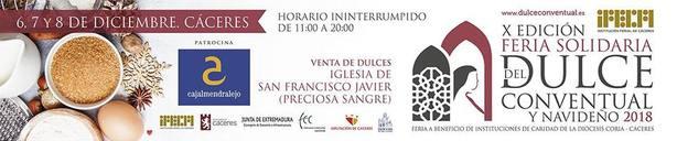 X Feria Solidaria del Dulce Conventual