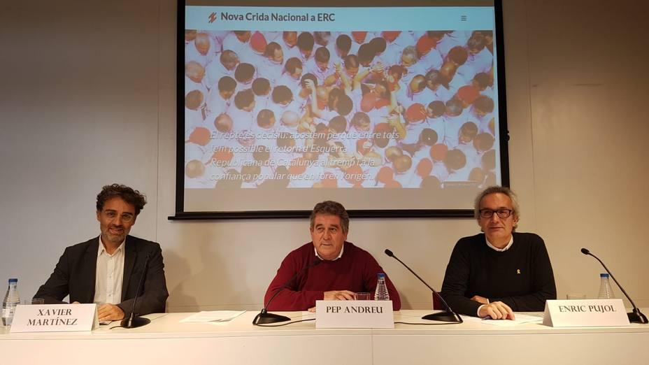 Miembros de ERC impulsan un manifiesto a favor de una lista unitaria soberanista en las europeas