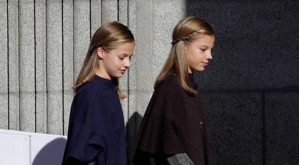El detalle en el que no te habías fijado de la Princesa de Asturias y la infanta Sofía