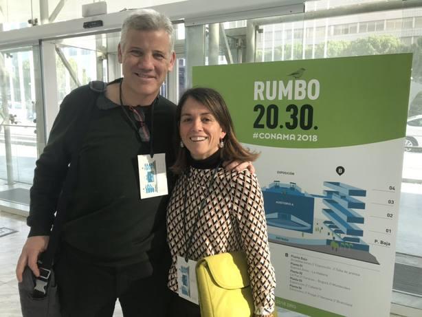 Alfredo García- Plata y Elena Biurrun