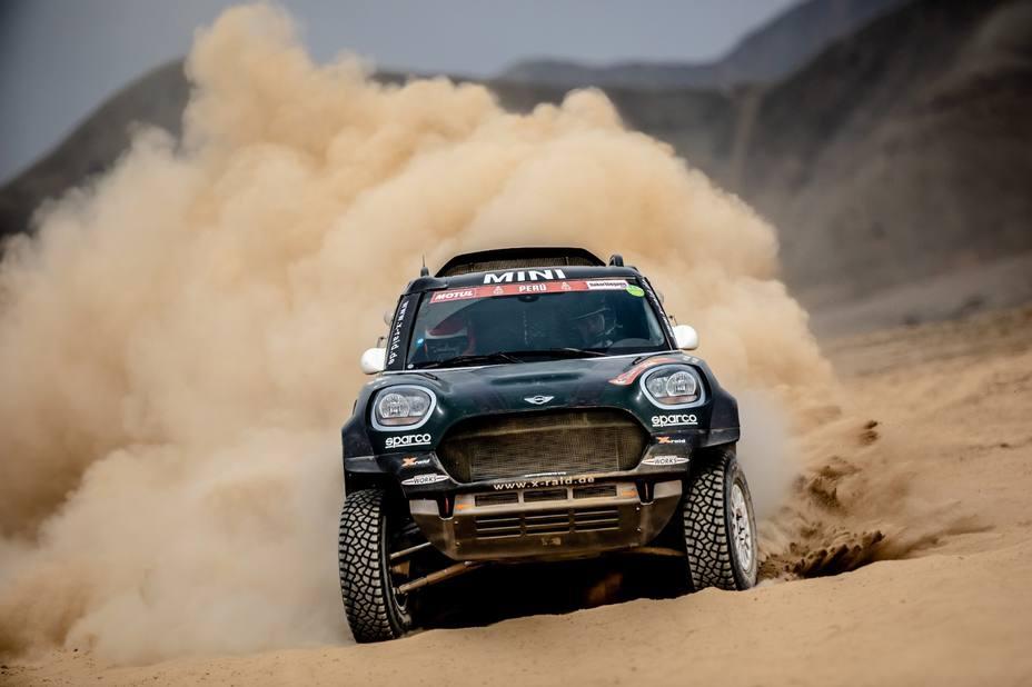 Rally/Dakar.- Nani Roma se coloca tercero en la general de coches tras la cuarta etapa