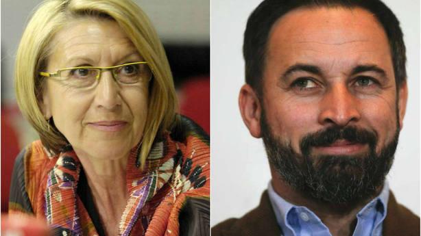 Abascal sorprende a las redes al compartir este vapuleo de Rosa Díez a Sánchez y Francia