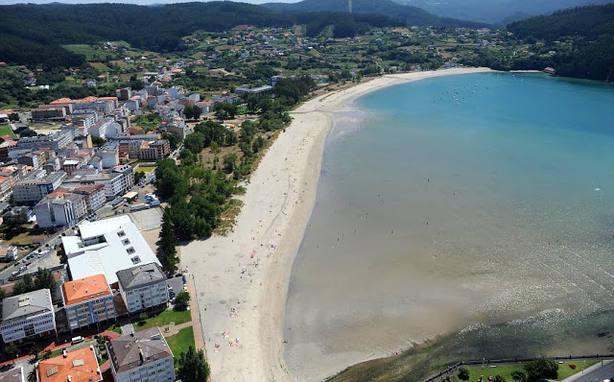 Playa de A Magdalena, en Cedeira