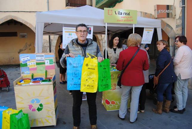 Campaña de reciclaje en Vila-real