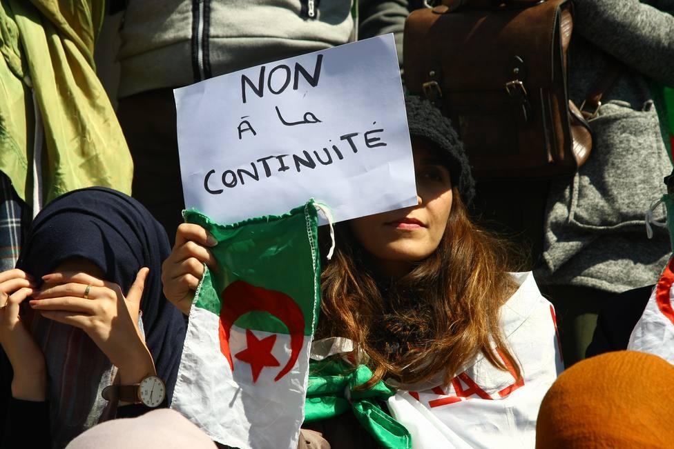 Magistrados de Argelia se manifiestan para reclamar una justicia libre e independiente