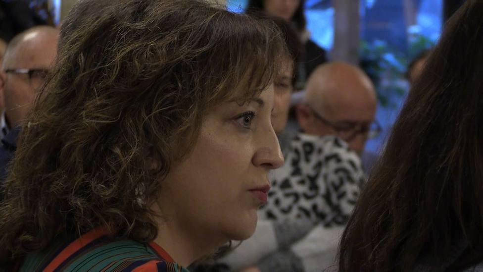 Iratxe García defiende su candidatura para ser la segunda mujer que preside el grupo de los socialistas europeos