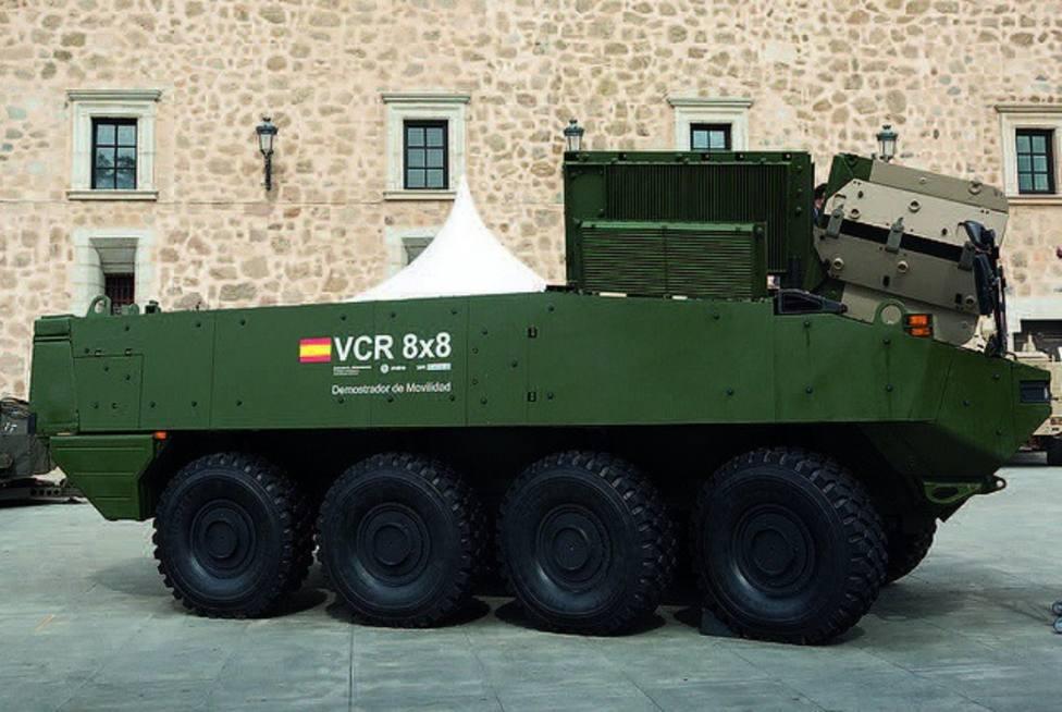 Vox pregunta al Gobierno por la compra de 348 blindados para el Ejército de Tierra sin haber podido probarlos primero
