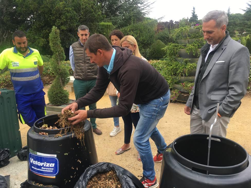 El Ayuntamiento de Collado Villalba repartirá compostadoras a los vecinos