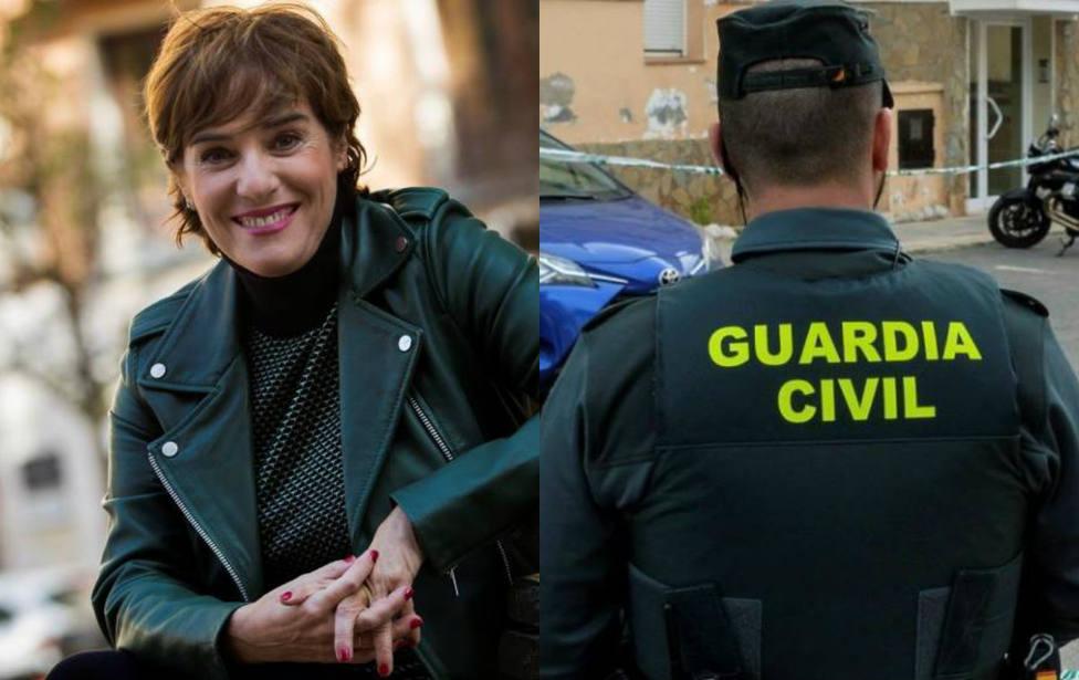 Anabel Alonso critica este emotivo tuit de la Guardia Civil y una fundadora de Vox estalla contra ella