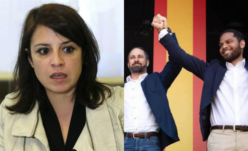 Adriana Lastra celebra la cuenta atrás para exhumar a Franco y un diputado de Vox le lanza esta amenaza