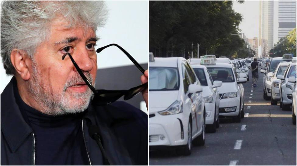 """El incendiario comentario de Almodóvar sobre las """"opiniones de taxistas"""" y las subvenciones"""