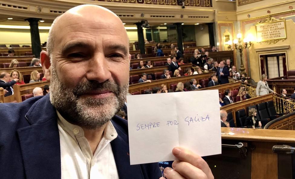 El voto nulo del diputado del BNG para escoger la Mesa del Congreso