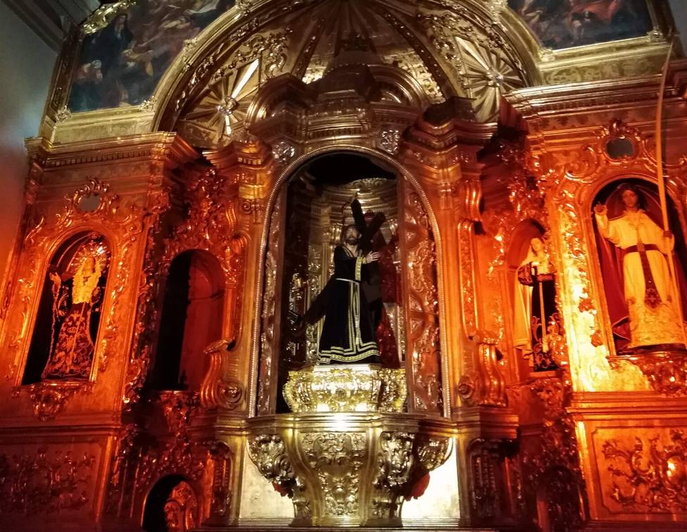 Los marrajos celebran este año el 75 aniversario de la llegada la imagen de Jesús Nazareno