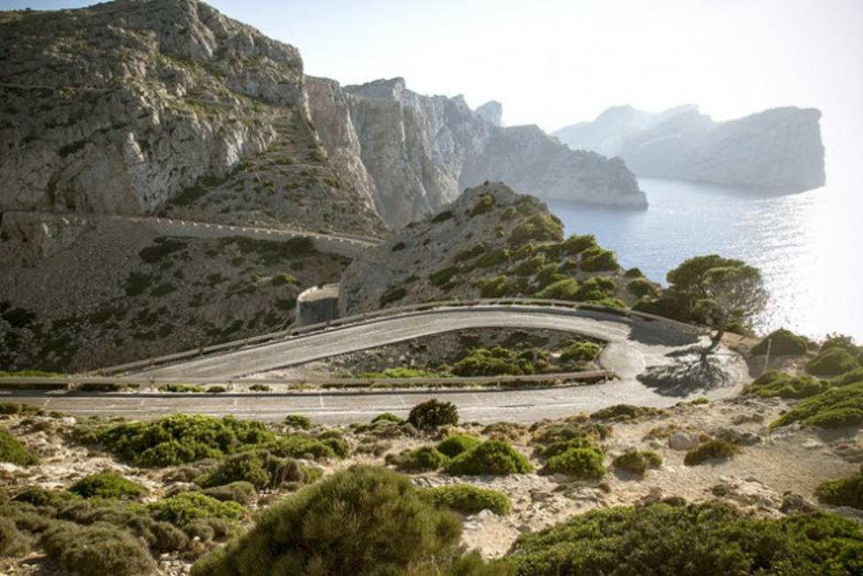 Una imagen de archivo de la carretera de Sa Calobra, Mallorca
