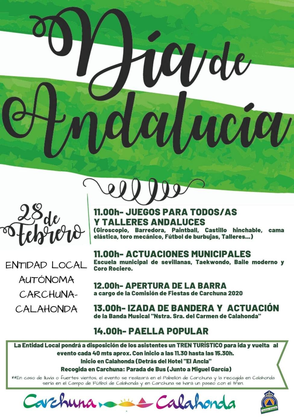 Día de Andalucía en Carchuna y Calahonda