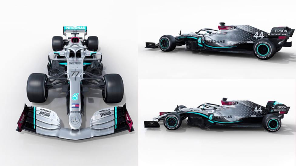 Mercedes presenta el W11 en búsqueda del séptimo título de Hamilton