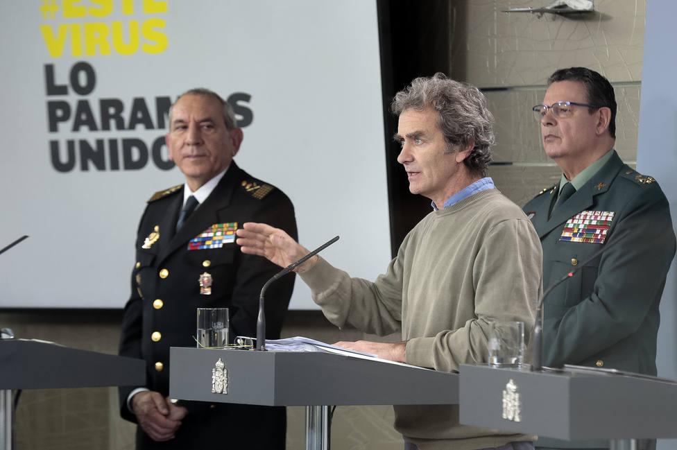 Comparecencia de Fernando Simón para informar sobre el coronavirus