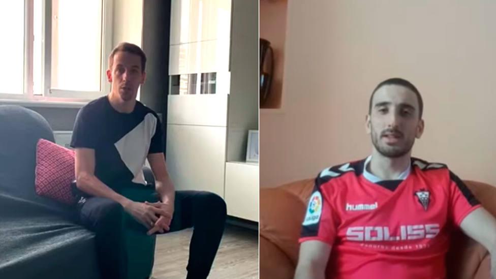 Los jugadores de fútbol sala Lin y Raúl Goméz hablan de su confinamiento desde Rusia