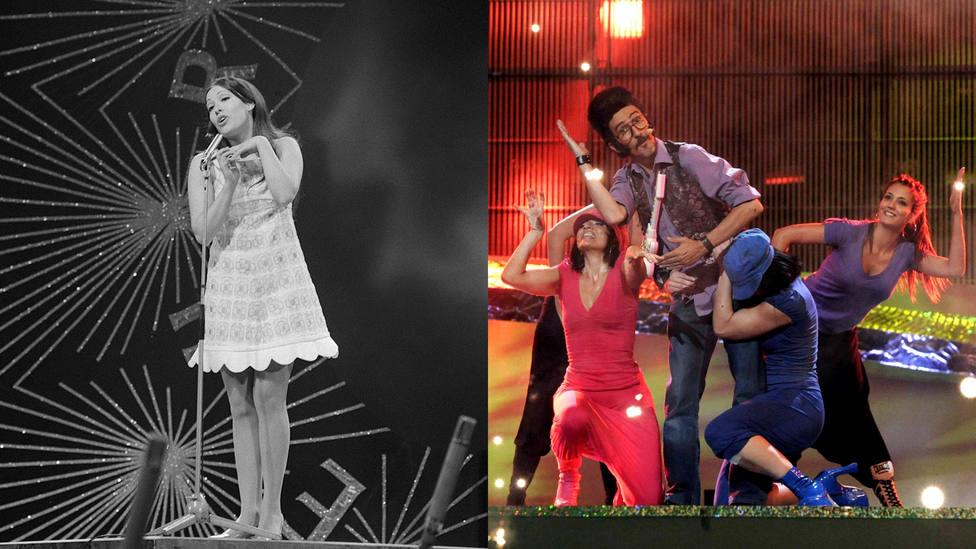 ¿Le ha ido España mejor en Eurovisión con canciones en español o en inglés?