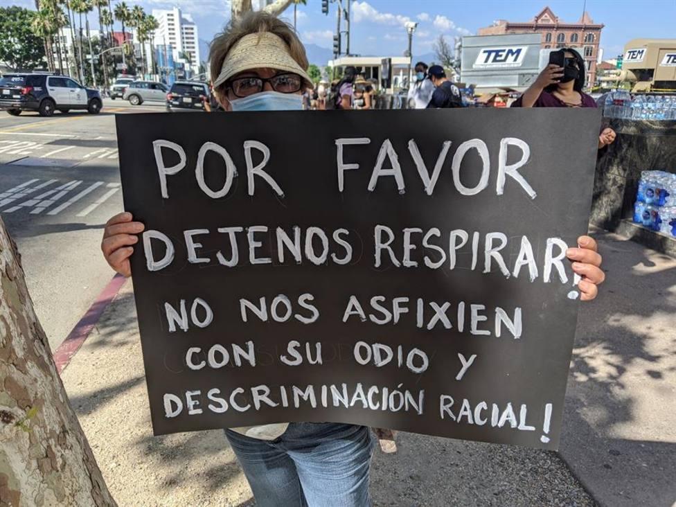 Manifestaciones en EE.UU. contra la muerte de George Floyd en Mineápolis
